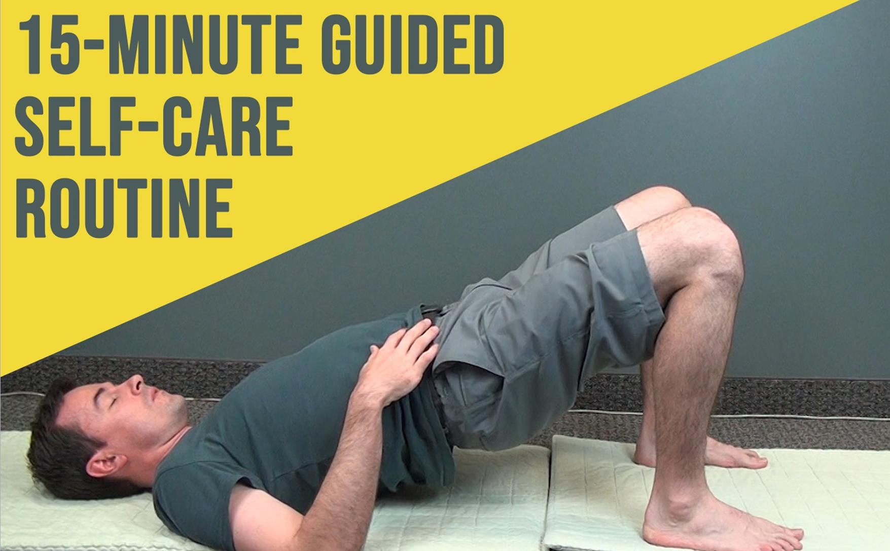 Relax your Back and Legs and Energize the Core with this Guided Exercise Routine