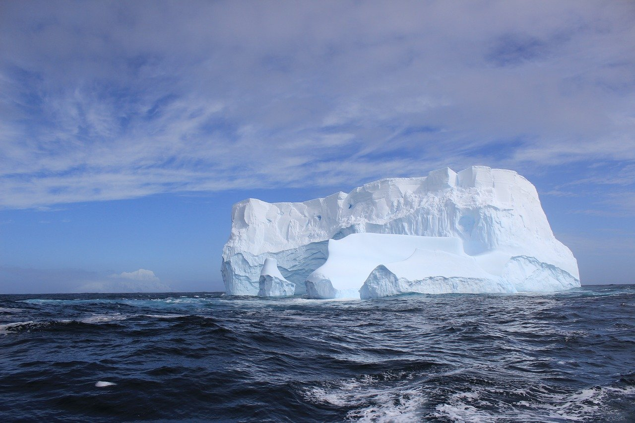 Heading towards some iceberg