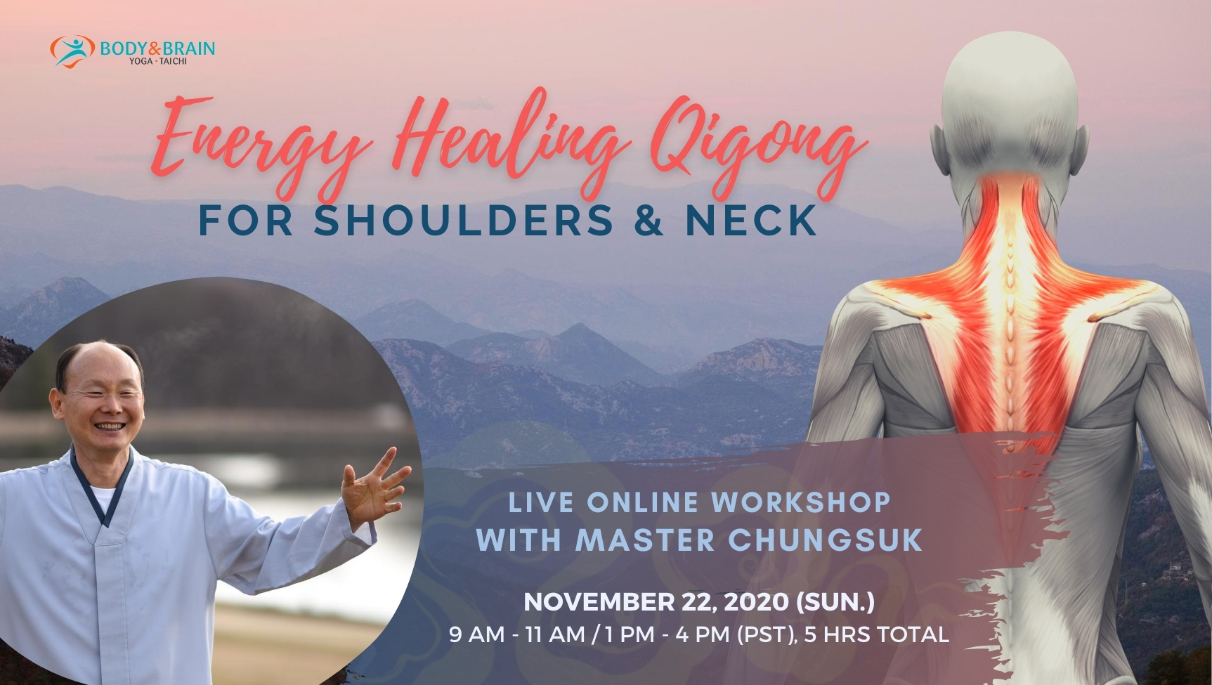 Energy Healing Qigong Live Online for Hip Joints and Knees